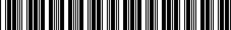 Barcode for 7662142080