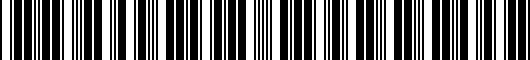 Barcode for PT9083410002